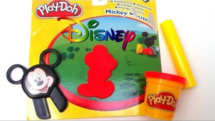 Play doh Disney Junior Play-Doh Mickey Mouse Stamp & Cut Toy Review, Hasbro