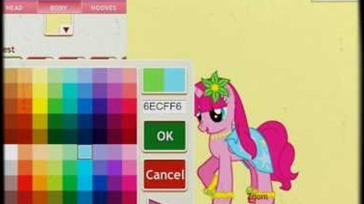 Пони креатор 3.Pony creator v3.Играю и больше не буду ._.