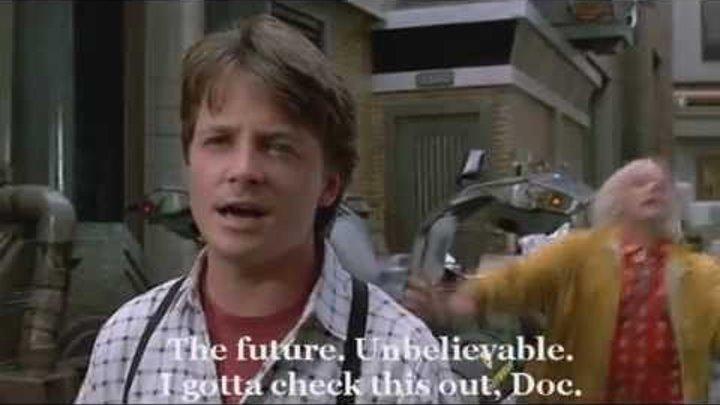 Назад в будущее 2 (дословный перевод) =)