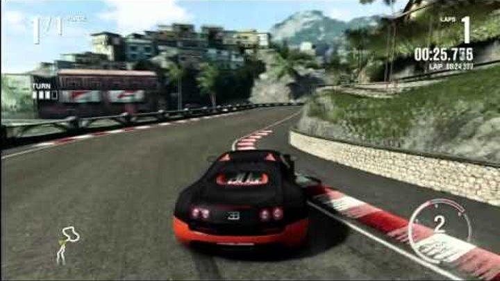 Forza 4 Drifting - Bugatti Veyron Super Sport