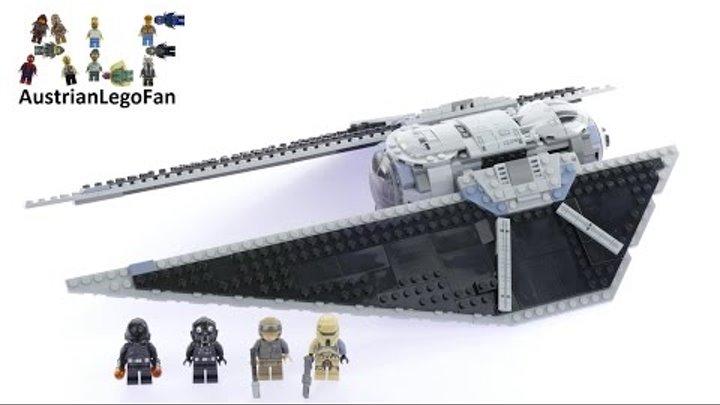 Lego Star Wars 75154 Tie Striker™ - Lego Speed Build Review