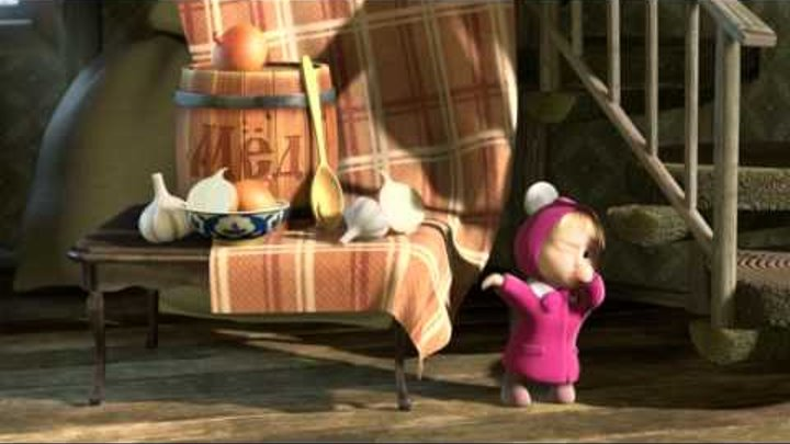 Маша и Медведь - Картина маслом (Натюрморт)