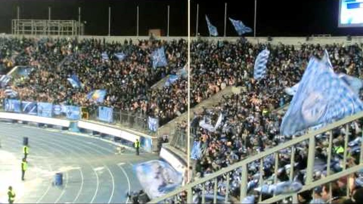 Зенит - Бенфика Празднование 3-го гола - победного