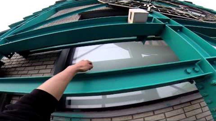 Руферы Владивостока: Big Ben (GoPro Hero 3+)|Здание с часами
