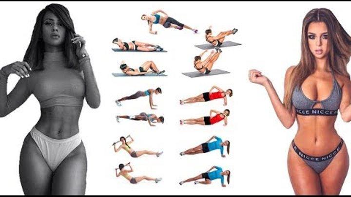 Убрать живот и бока в домашних условиях. 6 эффективных упражнений.