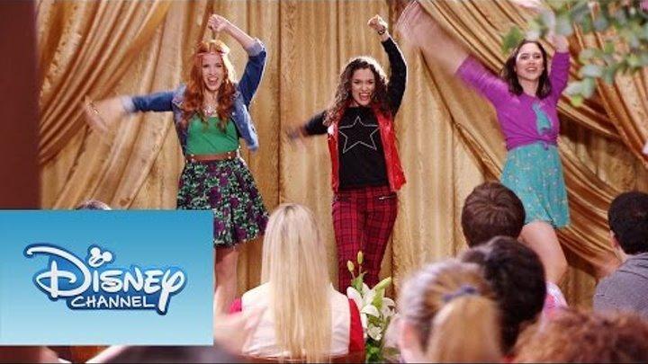 """Violetta: Momento Musical: Fran, Naty y Camila interpretan """"Encender nuestra luz"""""""