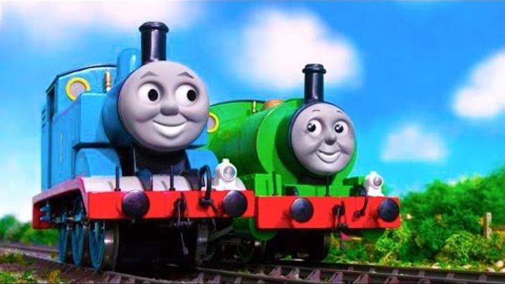 Томас и его друзья - Развивающий мультфильм на русском языке! Новые серии