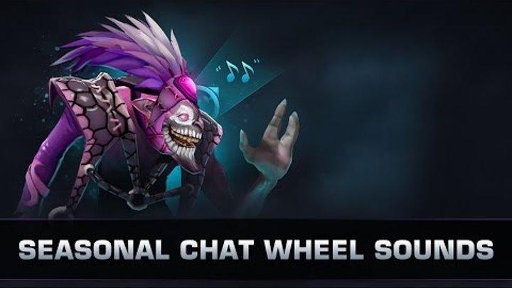 Dota 2 TI7 - Seasonal Chat Wheel Sounds
