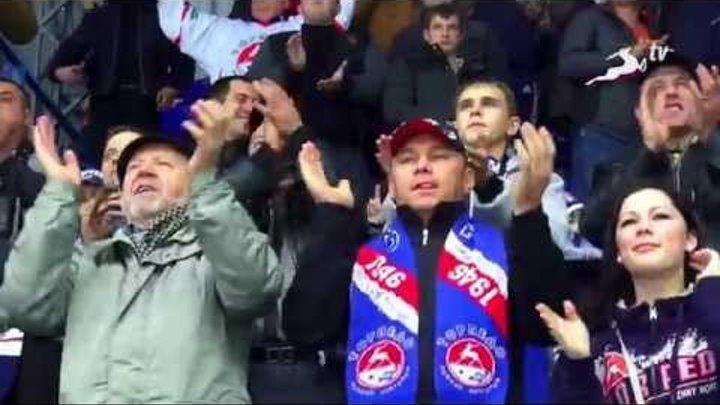 """КХЛ. """"Торпедо"""" - """"Динамо"""" Мн 2:1"""