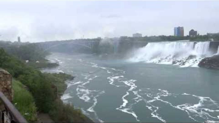 Niagara Falls on USA / Canada Border. Including Maid of the Mist Boat Tour
