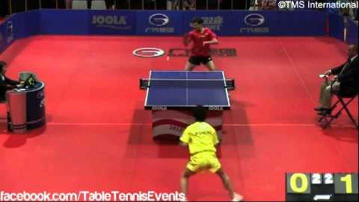 Masato Shiono Vs Zoran Primorac: 1/4 Final [US Open 2013]