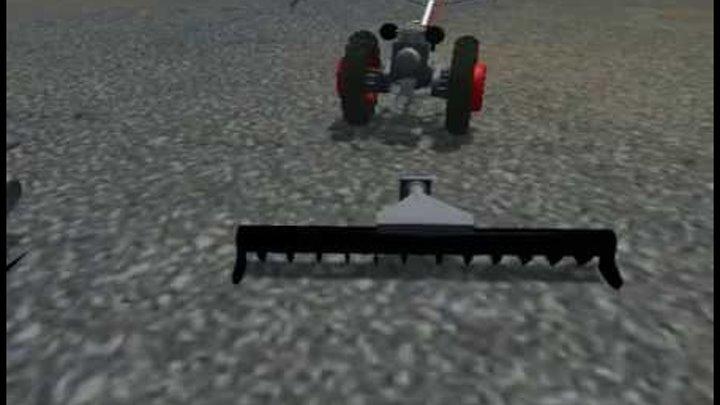 """Скачать бесплатно мод мотокультиватора """"Крот"""" для игры фермер симулятор Farming Simulator 2013"""