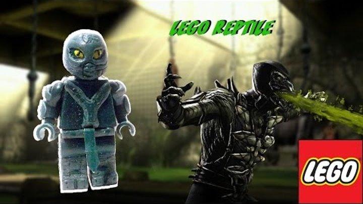 Lego Reptile Custom Minifigure [ Mortal Kombat X] [PlayHunterChan]