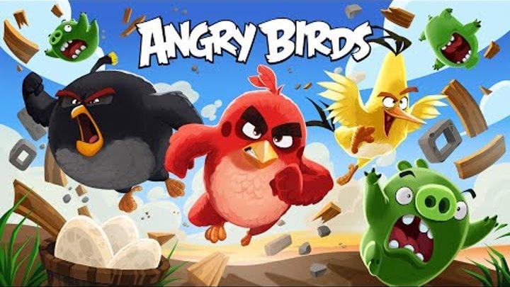 Энгри Бердс ANGRY BIRDS Злые птички игрушки Хеппи Мил Happy Meal McDonalds THE ANGRY BIRDS MOVIE