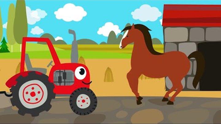 Песенки для детей - Животные - развивающая детская песенка для детей малышей