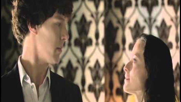 Sherlock BBC 2 сезон - Постой, любовь (Шерлок, Ирен)