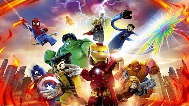 LEGO МСТИТЕЛИ Marvel's Avengers Прохождение Часть 2 Скипетр Посох Локи! Капитан Америка #gaming