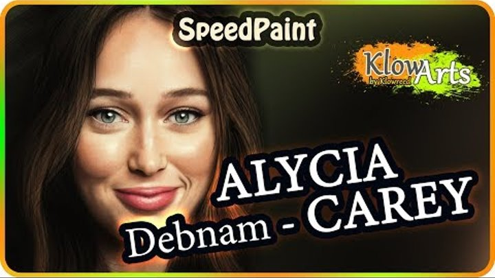 Alycia Debnam-Carey as Alicia Clark | Photoshop speedpaint