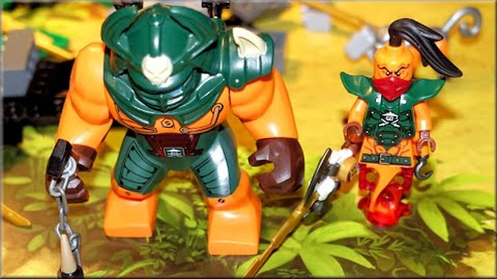 LEGO Ninjago 2016. Лего Ниндзя го 6 сезон Догшанк + Остров Тигриных вдов 70604
