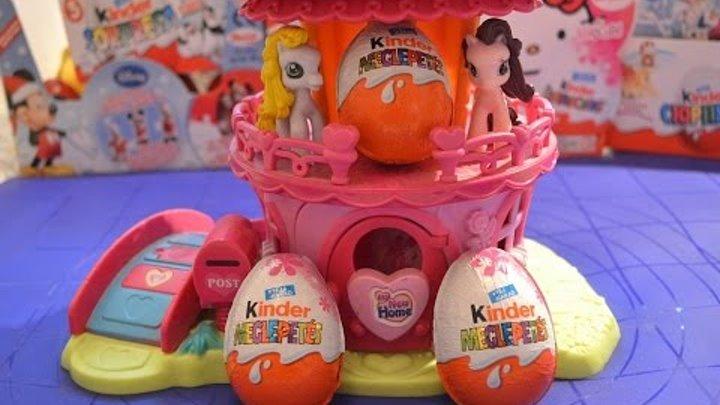Открываем Киндер сюрприз Волшебные Феи Дисней, Kinder Surprise eggs Disney Fairies, Tinker Bell