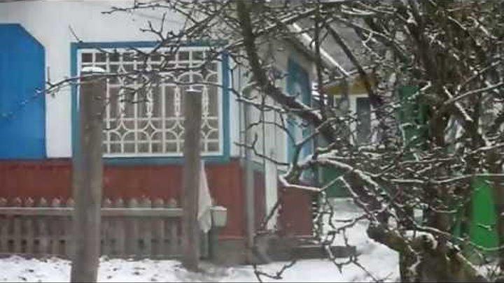 Сніг в Карпатах.Чернівецька область.Путильський район.