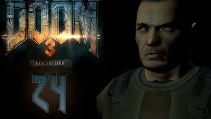 Doom 3 BFG Edition - Прохождение игры на русском - Пещеры зона 1 [#24] | PC