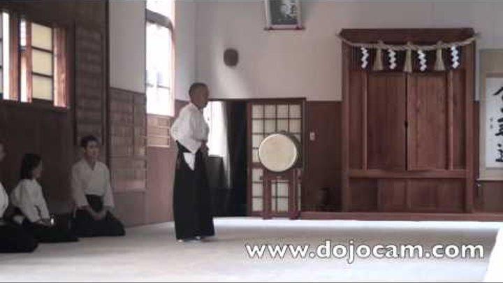 Aikido - Anno Motomichi Sensei 4:9 - Kumano Juku Dojo - Shingu - April 2012