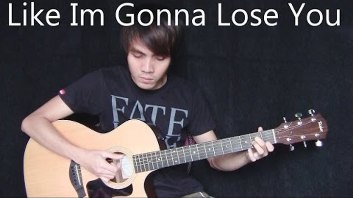 Like I'm Gonna Lose You - Meghan Trainor ft. John Legend (fingerstyle guitar cover)