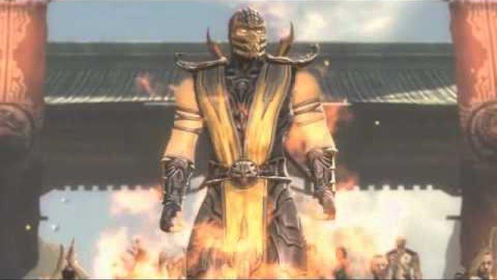 Mortal Kombat 2011 Русская озвучка Часть 2