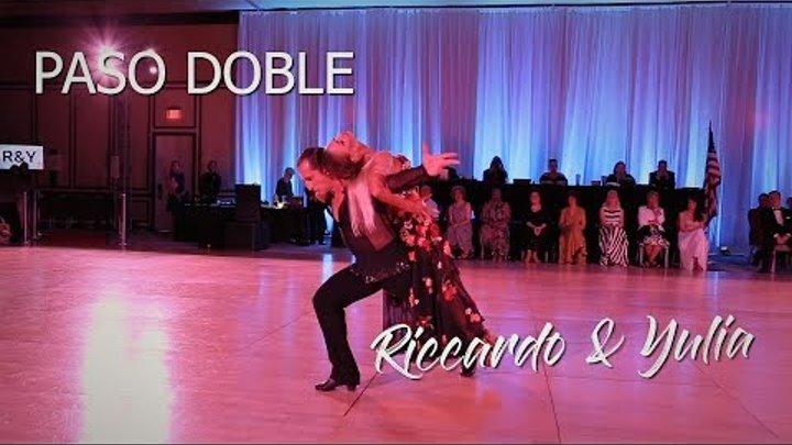 Riccardo Cocchi & Yulia Zagoruychenko   Showdance Paso Doble (Original)I Boca Dancesport 2018
