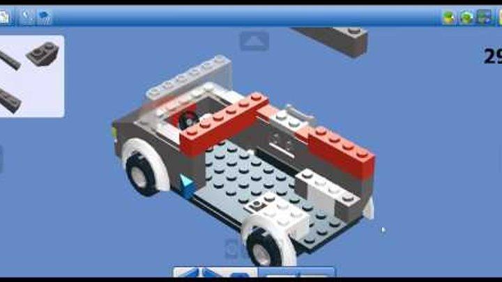 Lego car van