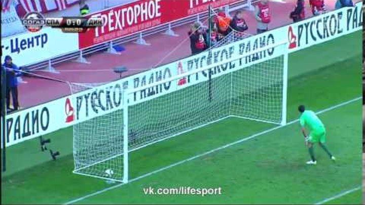 Спартак М 1:0 Динамо М | Российская Премьер Лига 2014/15 | 19-й тур | Обзор матча