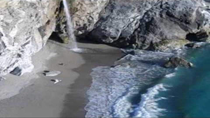 Big Sur McWay Falls 2009 Pacific Coast Highway, California