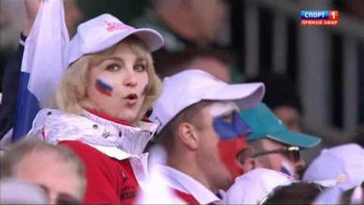 Игроки сборной России по регби исполняют гимн.avi