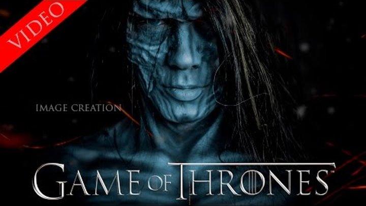 Создаю образ белого ходока из Игры престолов 7 сезон. Полный сюжет