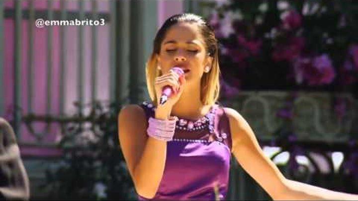 """Violetta 3 - Violetta canta """"Algo se enciende"""" en la boda (03x80)"""