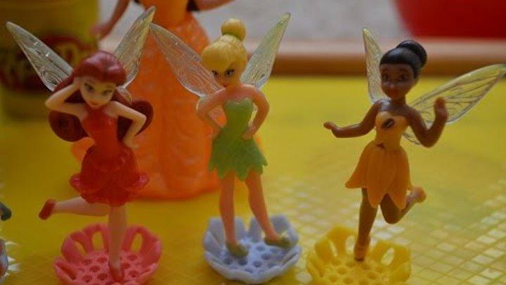 Открываем с Аней Киндер сюрпризы Фея Динь Динь (Disney Fairies) серия 4