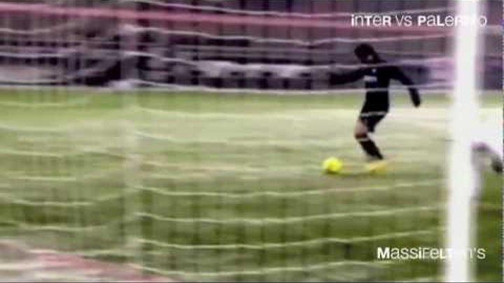 Голы Диего Альберто Милито в серии А 2009 - 2012