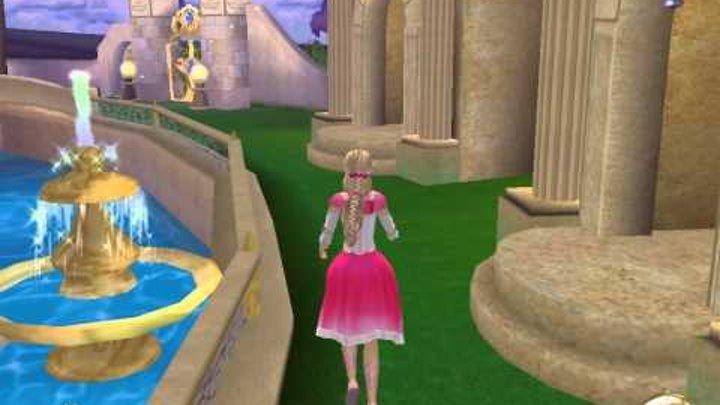 Прохождение игры Барби 12 танцующих принцесс часть 4