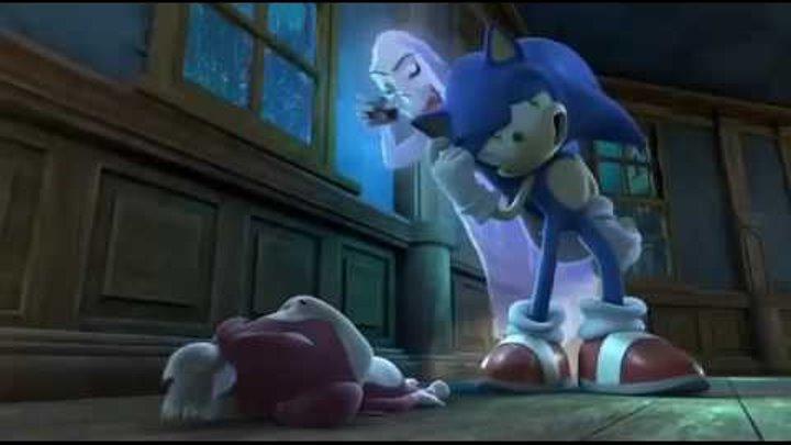 СОНИК: Ночь ежа-оборотня - прикольный короткометражный мультик
