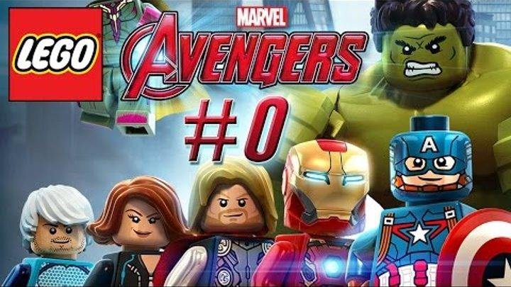 LEGO Marvel Avengers Gameplay #0 - Let's Play LEGO Marvel Avengers 2015 German / Deutsch
