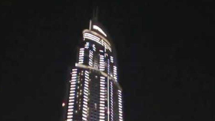 Отель ADDRESS в Центре Дубая ОАЭ, сгоревший в новогоднюю ночь 31.12.2015. Эксклюзив!!!