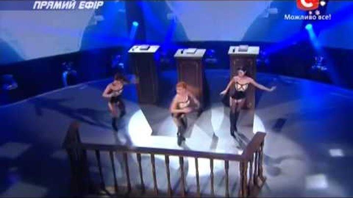 Танцуют все 6 сезон - Гала концерт - Танец девушек Судьи - Эфир от 27.12.2013