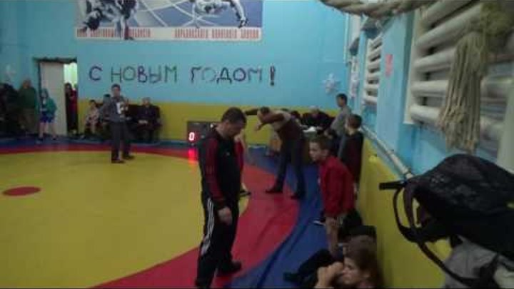 Саня Точ - красное трико схватка за 3 место