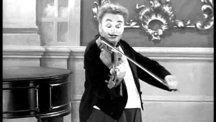 """Ч.Чаплин. Фрагмент из фильма """"Огни рампы"""" (1952)"""