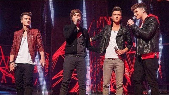 Union J sing Abba's The Winner Takes it All - Live Week 8 - The X Factor UK 2012