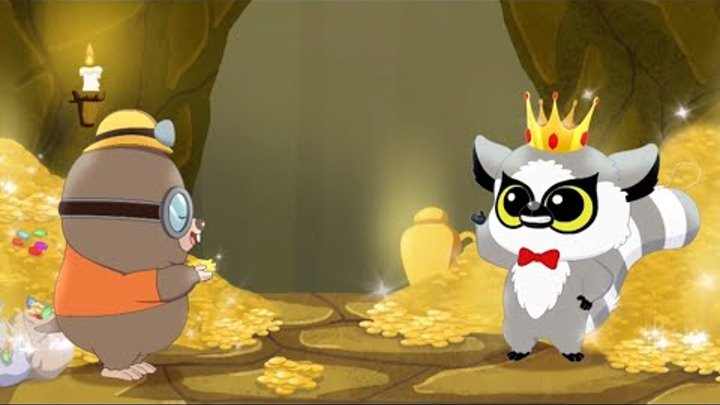 Юху и его друзья - Ямы в земле - Веселые мультфильмы для детей