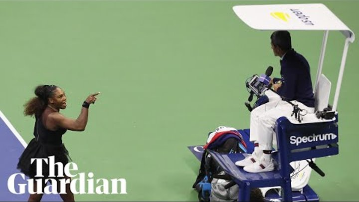 Serena Williams calls umpire a 'liar' and 'thief' as Naomi Osaka wins US Open final