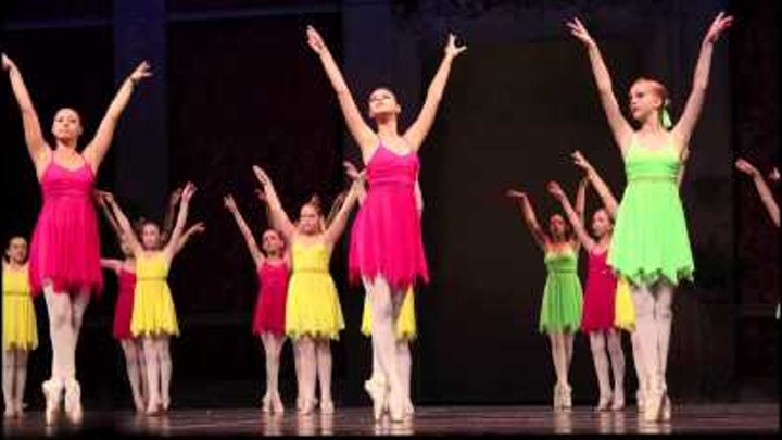 """Farber Ballet. Gala Concert 2011. Ballet-Suite from the Opera """"Faust""""."""