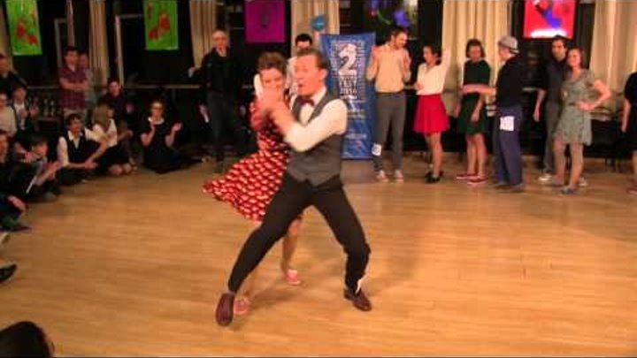 Fast Tempo Part of Lindy Hop Final Jam at Tantsklass Cup 2016